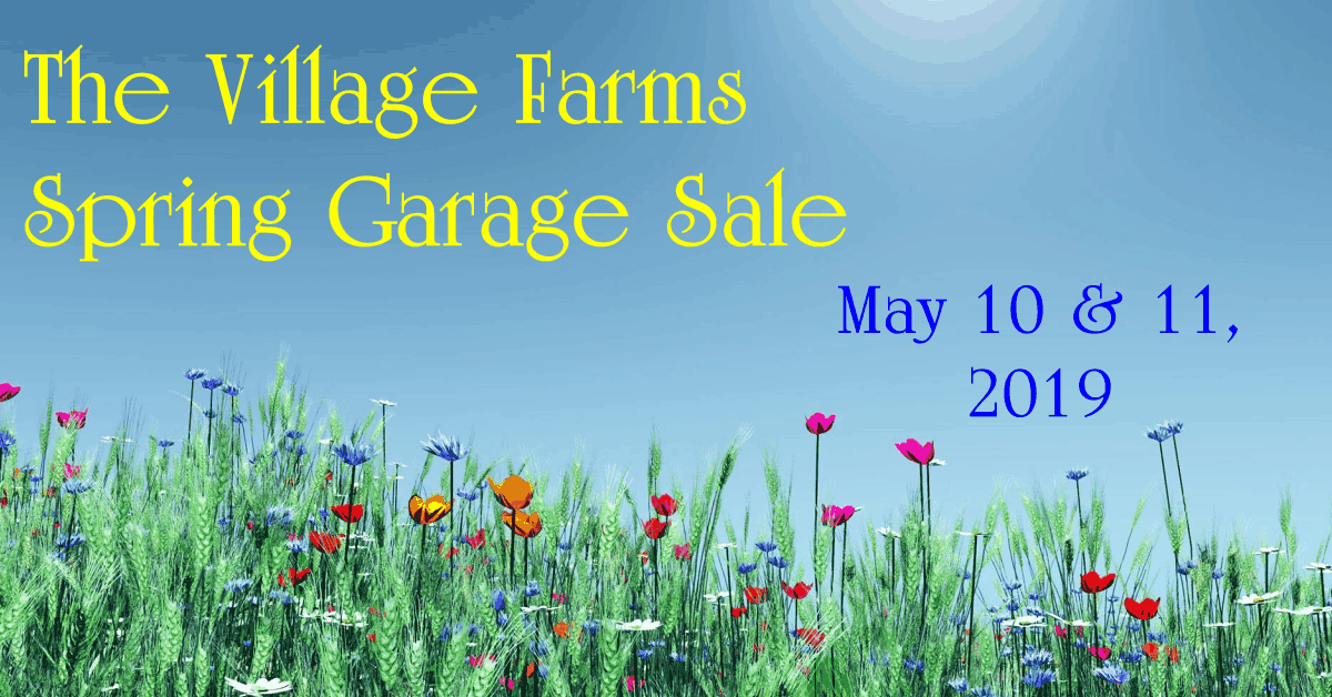 2019 VF Spring Garage Sale