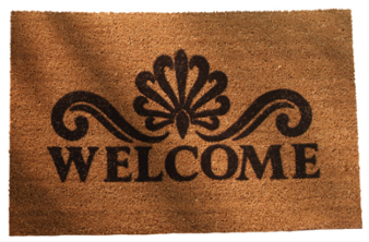 Welcome Mat - Medium